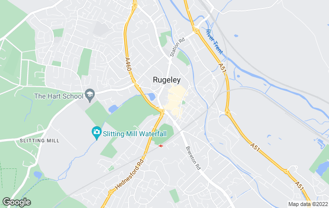 Map for C Residential Ltd, Rugeley-lettings