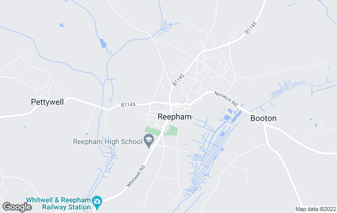Map for William H. Brown, Reepham