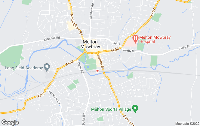 Map for Anthony Hancock Limited, Melton Mowbray