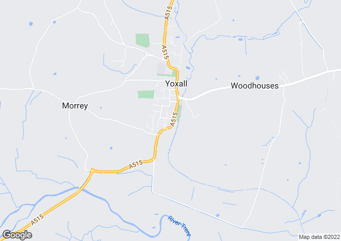 Map for Bond End, Yoxall, Burton-On-Trent, Staffordshire, DE13