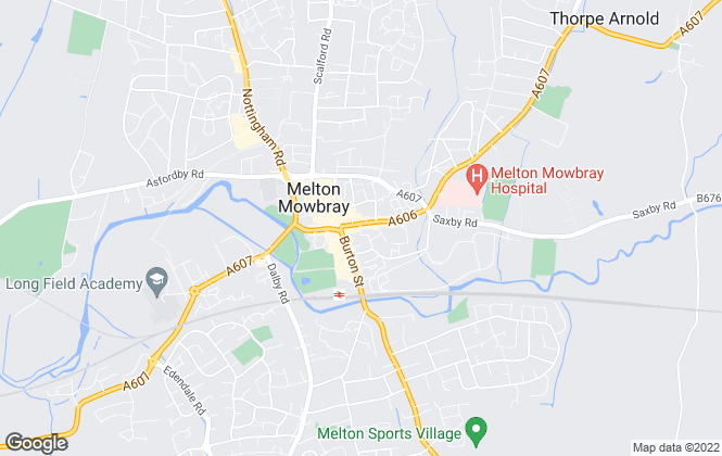 Map for Middletons, Melton Mowbray