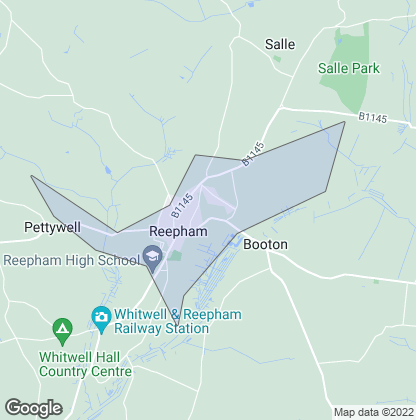 Map of property in Reepham