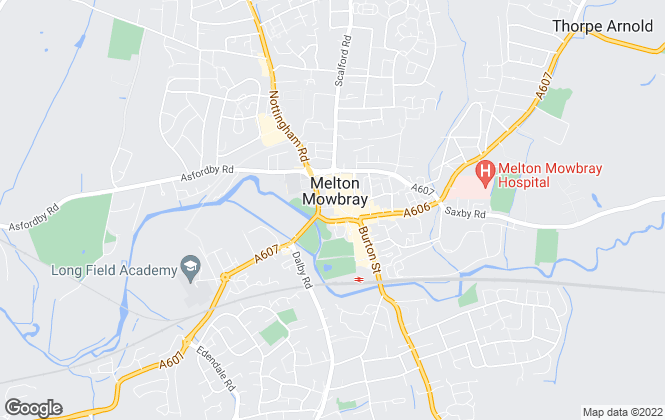 Map for Connells, Melton Mowbray