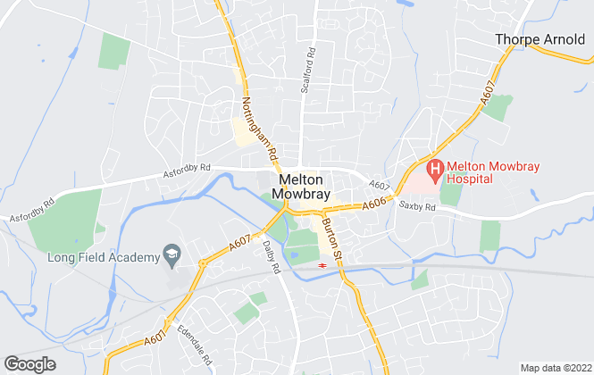 Map for Bentons Your Property Experts, Melton Mowbray