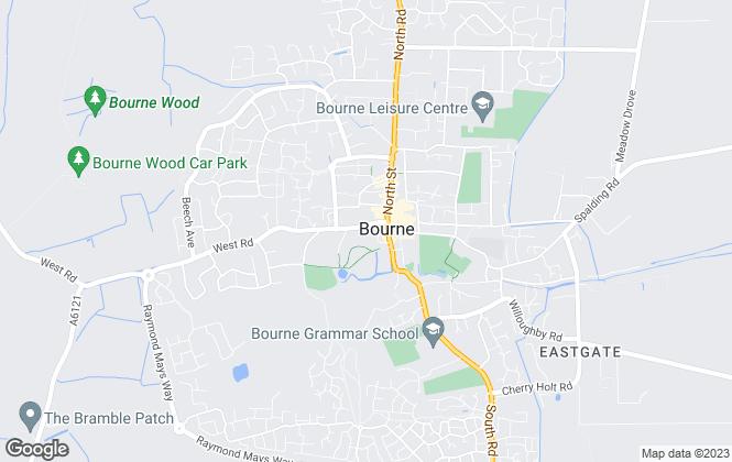 Map for Eckfords Property Scene, Bourne