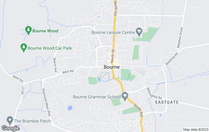 Map for Winkworth, Bourne