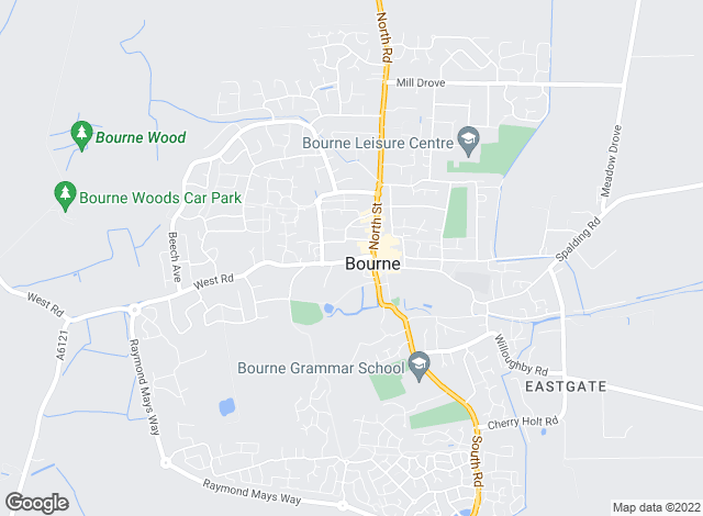 Map for Winkworth, Bourne
