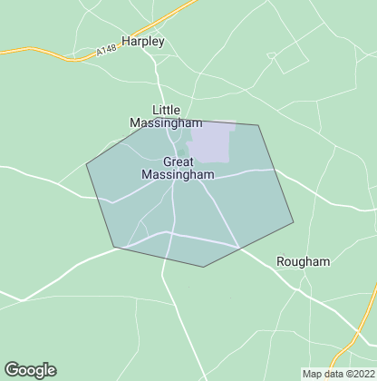 Map of property in Great Massingham