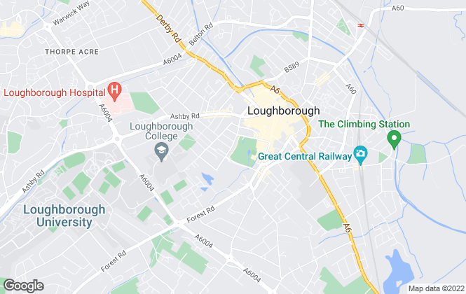 Map for Moving Made Cheaper, Loughborough