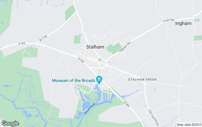 Map for Trett Phillips, Stalham