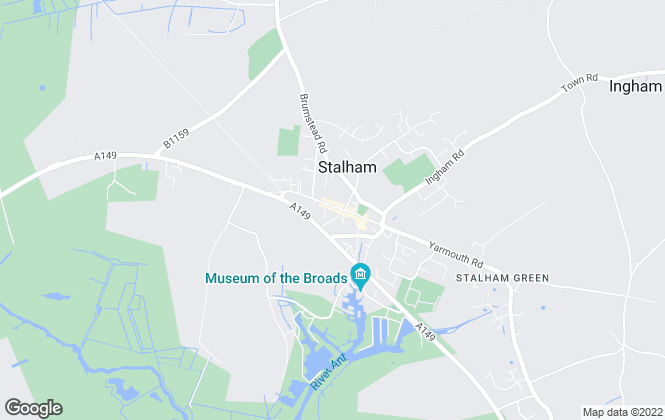 Map for William H. Brown, Stalham