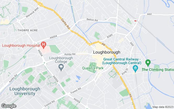 Map for Belvoir, Loughborough