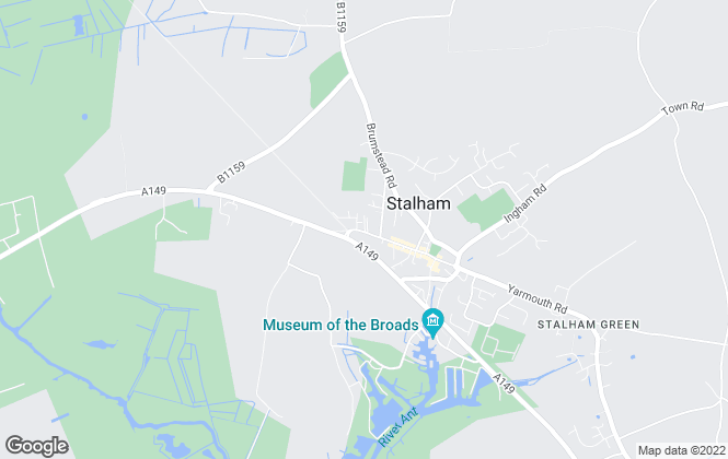 Map for Aldreds, Stalham