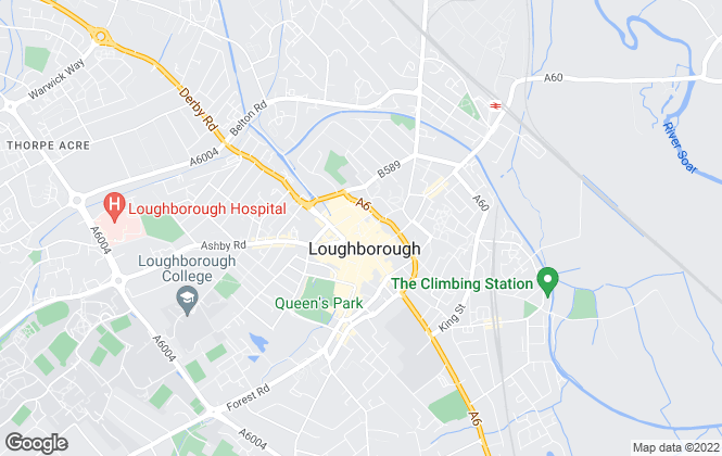 Map for Harrison Murray, Loughborough