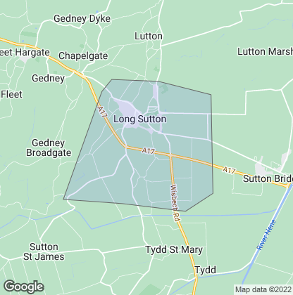 Map of property in Long Sutton