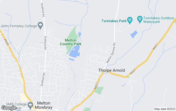 Map for Mike Ford Estate Agents & Valuers LTD, Melton Mowbray