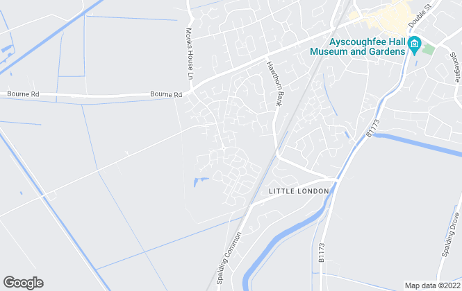 Map for Broadgate Homes Ltd