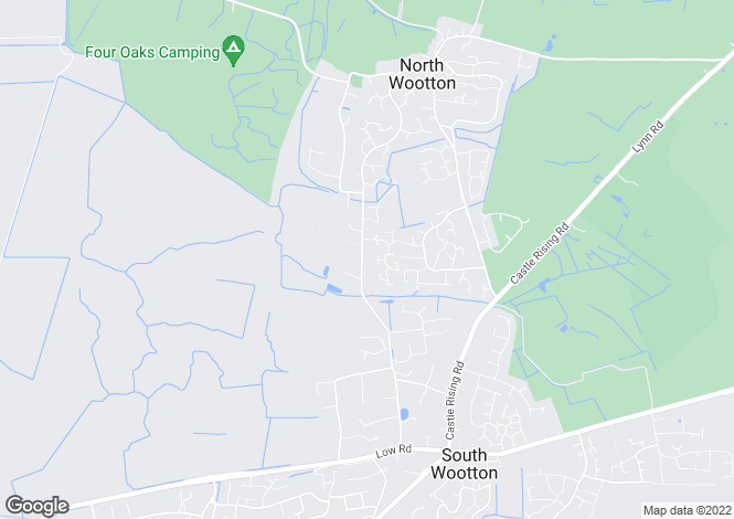 Map for 88 Nursery Lane, South Wootton