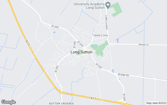 Map for William H. Brown, Long Sutton