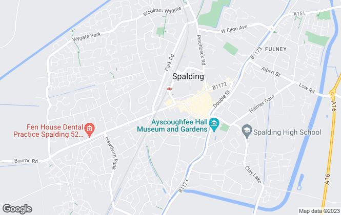Map for Sedge Ltd, Spalding