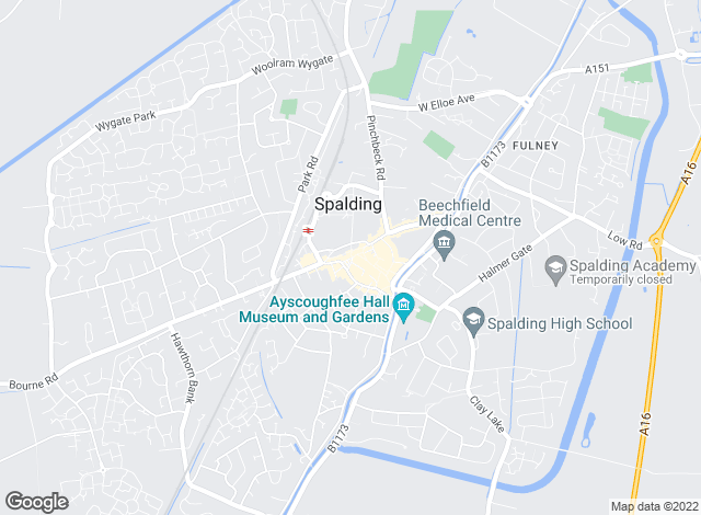Map for William H. Brown - Lettings, Spalding Lettings