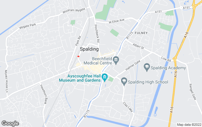 Map for We'll Let Your House, Spalding