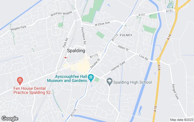 Map for Sedge Ltd, Spalding lettings