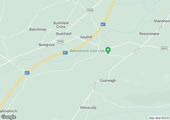 Map for Curraheen, Capparoe, Nenagh, Tipperary