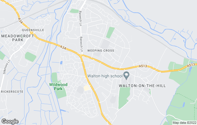 Map for Bellway Homes (West Midlands)