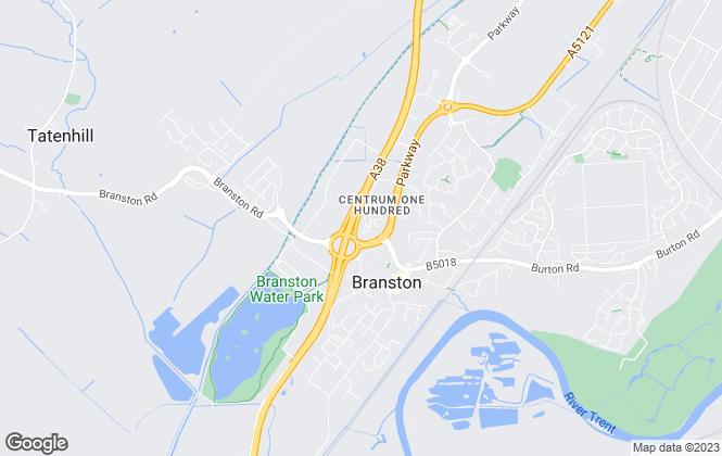 Map for FastSaleEstateAgent.co.uk, Burton-On-Trent