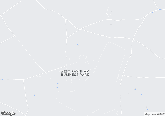 Map for Barsham Close, West Raynham. Fakenham NR21 7JL
