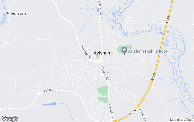 Map for Arnolds Keys Collection Norfolk, Aylsham