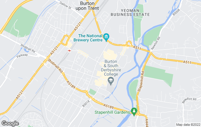 Map for Acquire Properties, Burton