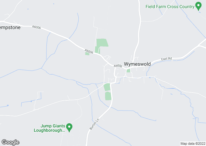 Map for London Lane, Wymeswold
