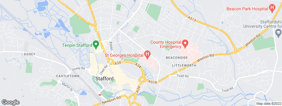Map for Shropshire Homes Ltd