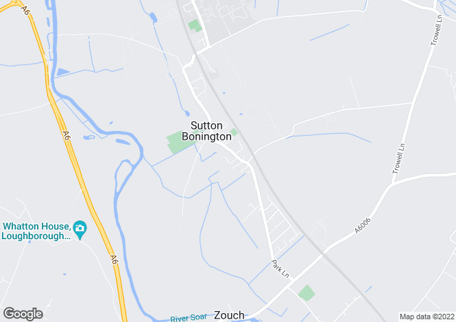Map for Gables Lea, Sutton Bonington, Leicestershire, LE12 5NW