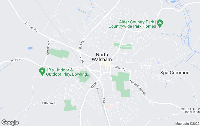 Map for Acorn Properties, North Walsham