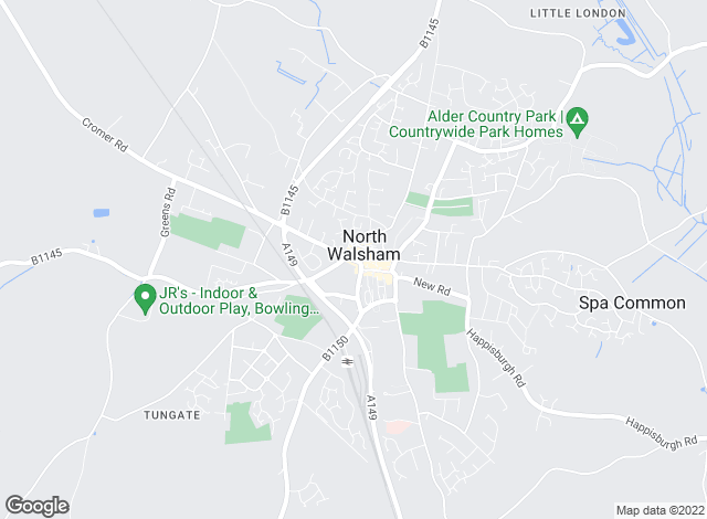 Map for William H. Brown, North Walsham