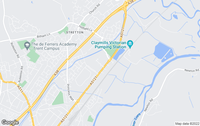 Map for Sure Sales & Lettings , Burton-On-Trent