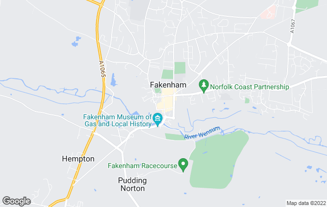 Map for Bailey Bird & Warren, Fakenham