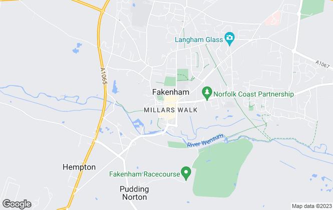 Map for Belton Duffey, Fakenham