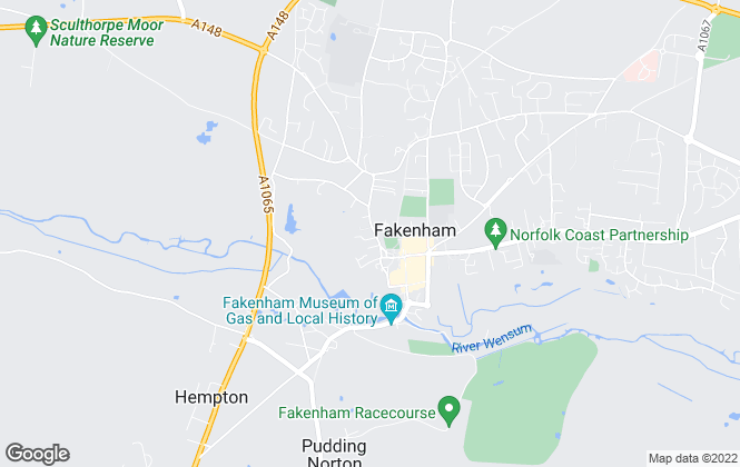 Map for Spalding & Co, Fakenham