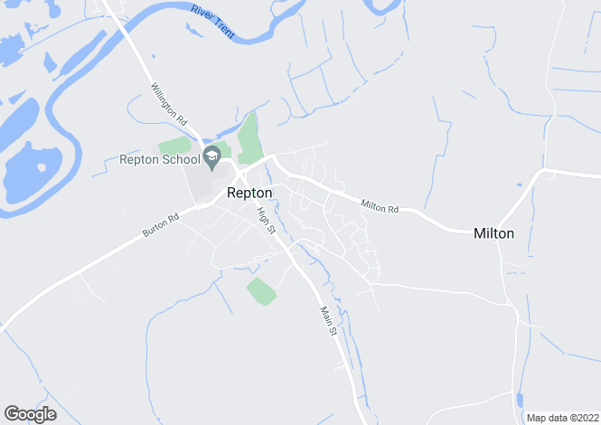 Map for New Build, 14 Askew Grove, Repton, Derbyshire DE65 6GL