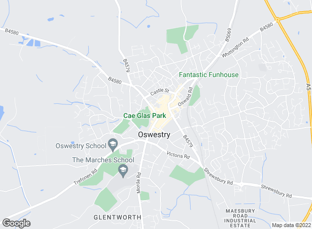 Map for Town & Country Property Services, Oswestry