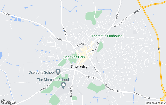 Map for Bowen Son & Watson, Oswestry