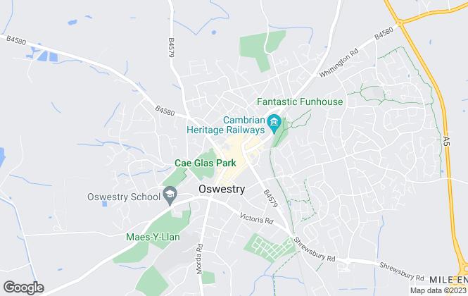 Map for Bowen Son & Watson, Oswestry