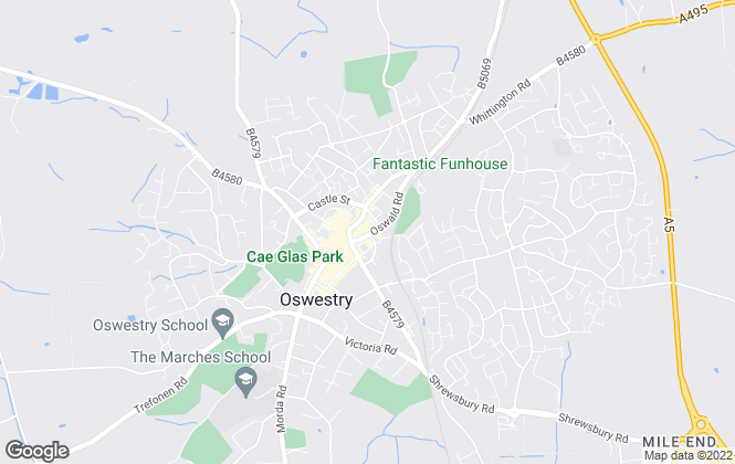 Map for Halls Estate Agents , Oswestry