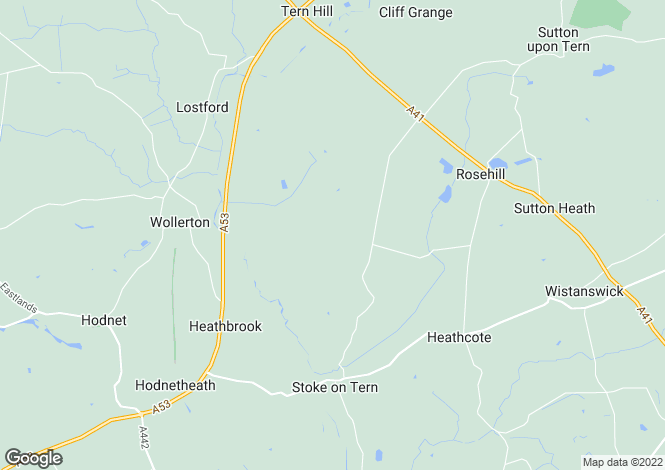 Map for Stoke Heath, Market Drayton
