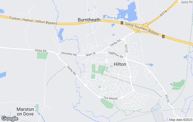 Map for Frank Innes, Hilton