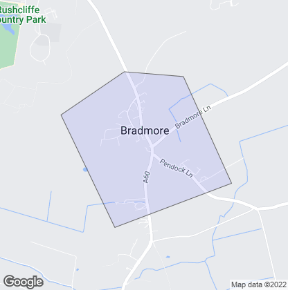 Map of property in Bradmore